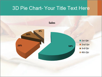 Schoolgirl PowerPoint Template - Slide 35
