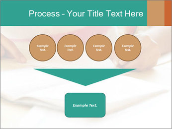 Schoolgirl PowerPoint Template - Slide 93