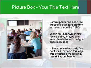 Female college student PowerPoint Template - Slide 13