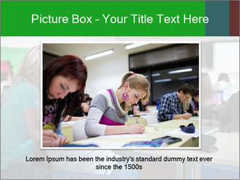 Female college student PowerPoint Template - Slide 15
