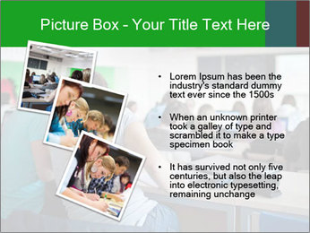 Female college student PowerPoint Template - Slide 17
