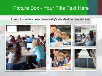 Female college student PowerPoint Template - Slide 19