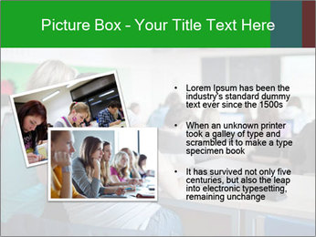 Female college student PowerPoint Template - Slide 20