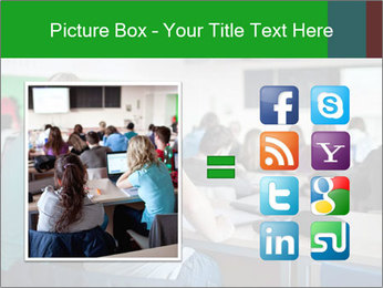 Female college student PowerPoint Template - Slide 21