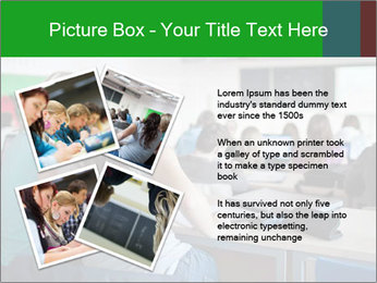 Female college student PowerPoint Template - Slide 23