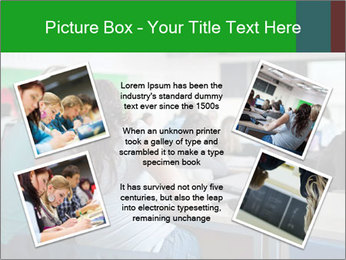 Female college student PowerPoint Template - Slide 24