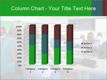 Female college student PowerPoint Template - Slide 50