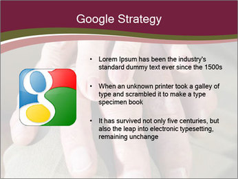 Hands of senior couple PowerPoint Templates - Slide 10