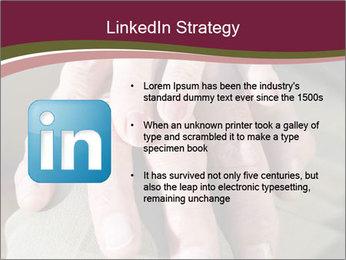Hands of senior couple PowerPoint Templates - Slide 12
