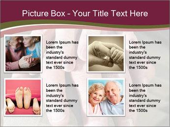 Hands of senior couple PowerPoint Templates - Slide 14