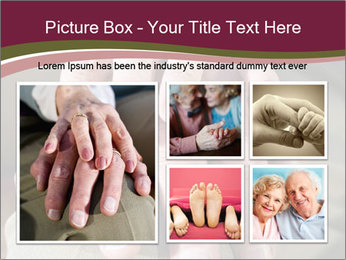 Hands of senior couple PowerPoint Templates - Slide 19