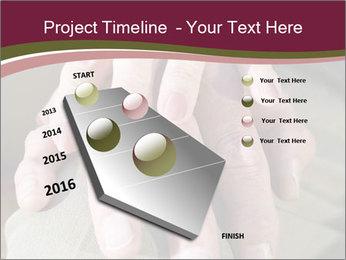 Hands of senior couple PowerPoint Templates - Slide 26