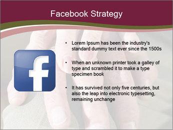 Hands of senior couple PowerPoint Templates - Slide 6