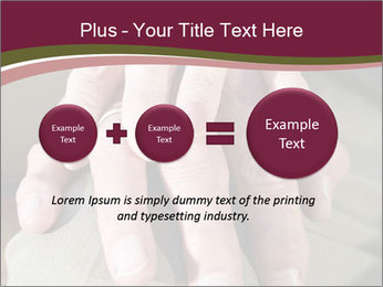 Hands of senior couple PowerPoint Templates - Slide 75