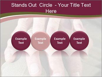 Hands of senior couple PowerPoint Templates - Slide 76