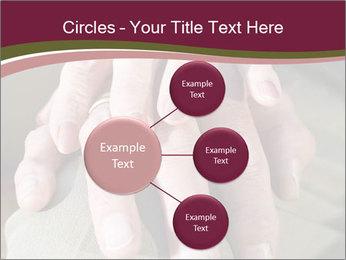 Hands of senior couple PowerPoint Templates - Slide 79