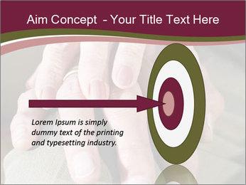 Hands of senior couple PowerPoint Templates - Slide 83