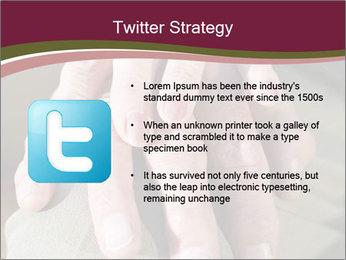 Hands of senior couple PowerPoint Templates - Slide 9
