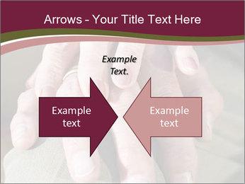 Hands of senior couple PowerPoint Templates - Slide 90