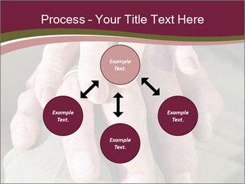 Hands of senior couple PowerPoint Templates - Slide 91