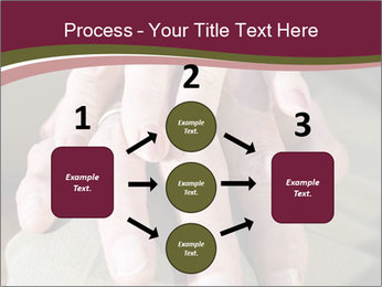 Hands of senior couple PowerPoint Templates - Slide 92