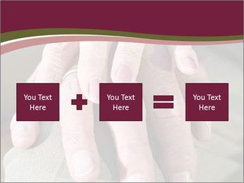 Hands of senior couple PowerPoint Templates - Slide 95