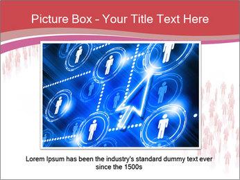 3D render business people PowerPoint Template - Slide 15