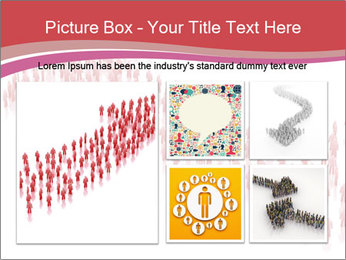 3D render business people PowerPoint Template - Slide 19