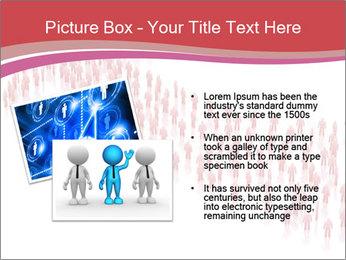 3D render business people PowerPoint Template - Slide 20