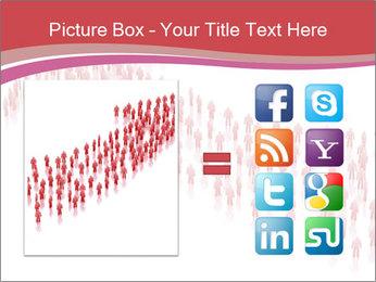 3D render business people PowerPoint Template - Slide 21