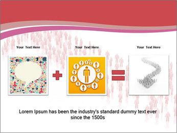 3D render business people PowerPoint Template - Slide 22
