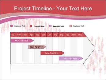 3D render business people PowerPoint Template - Slide 25