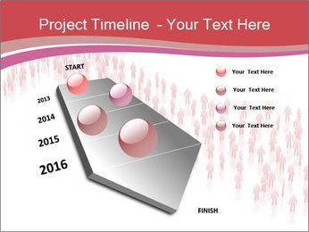 3D render business people PowerPoint Template - Slide 26