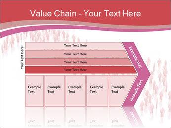 3D render business people PowerPoint Template - Slide 27