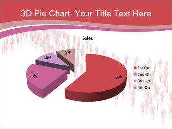3D render business people PowerPoint Template - Slide 35