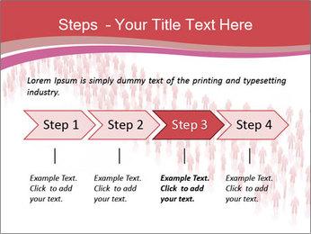 3D render business people PowerPoint Template - Slide 4