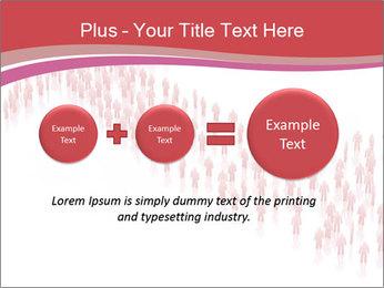 3D render business people PowerPoint Template - Slide 75