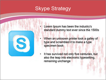 3D render business people PowerPoint Template - Slide 8
