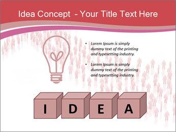 3D render business people PowerPoint Template - Slide 80