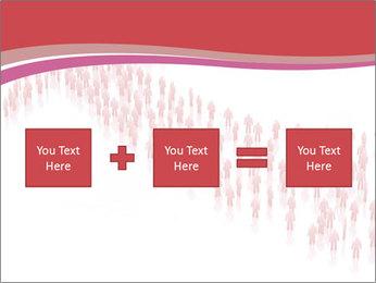 3D render business people PowerPoint Template - Slide 95