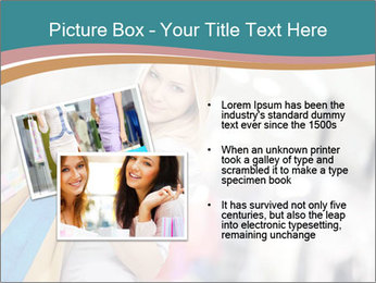 Smiling blonde in shop PowerPoint Templates - Slide 20