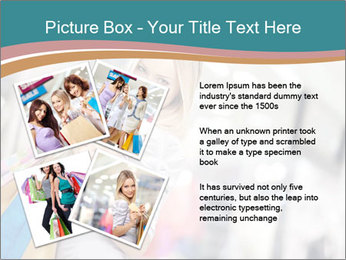 Smiling blonde in shop PowerPoint Templates - Slide 23