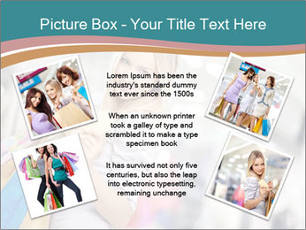 Smiling blonde in shop PowerPoint Templates - Slide 24