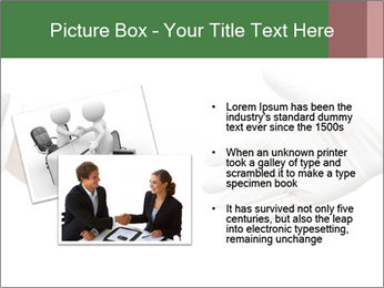 A doctor shaking hands PowerPoint Template - Slide 20