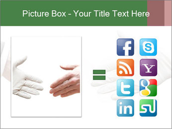 A doctor shaking hands PowerPoint Template - Slide 21