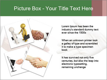 A doctor shaking hands PowerPoint Template - Slide 23