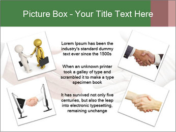 A doctor shaking hands PowerPoint Template - Slide 24