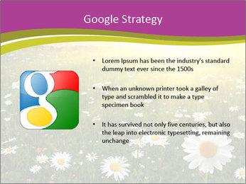 Flower field PowerPoint Template - Slide 10