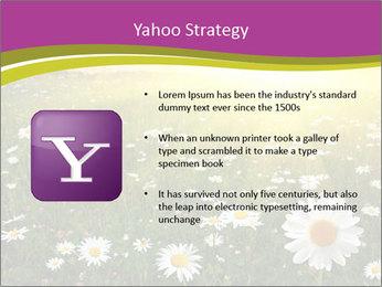 Flower field PowerPoint Template - Slide 11