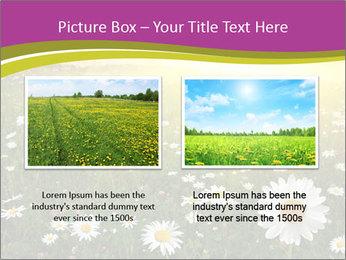 Flower field PowerPoint Template - Slide 18